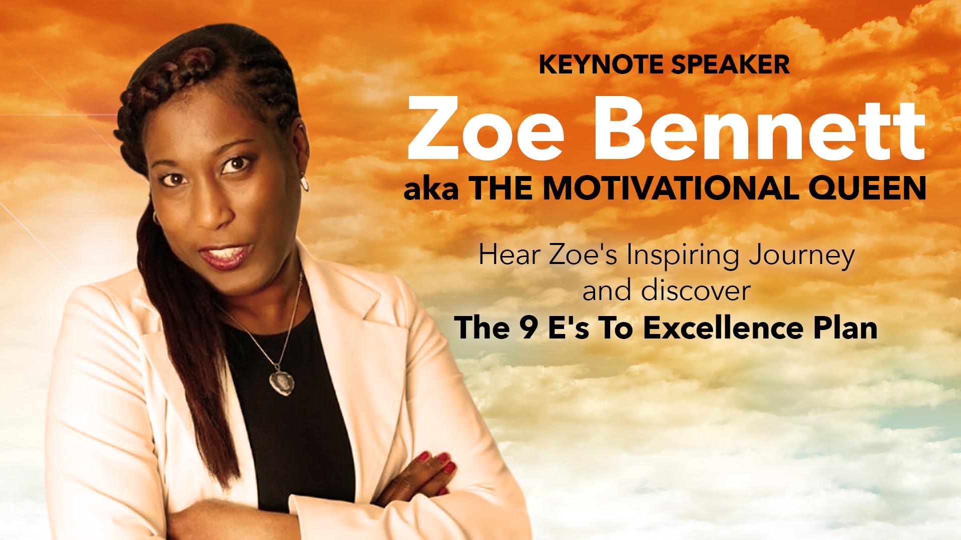 Zoe Bennett Keynote Speaker