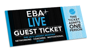 EBA Live Networking Event Ticket Sheffield