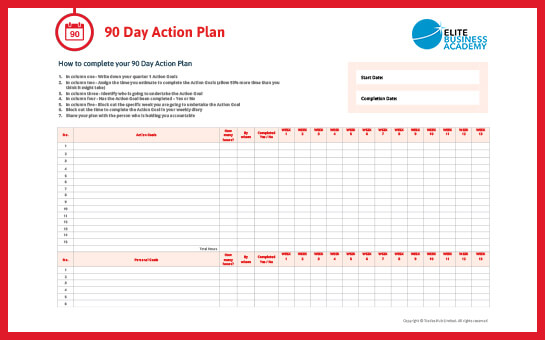 90-Day-Action-Plan